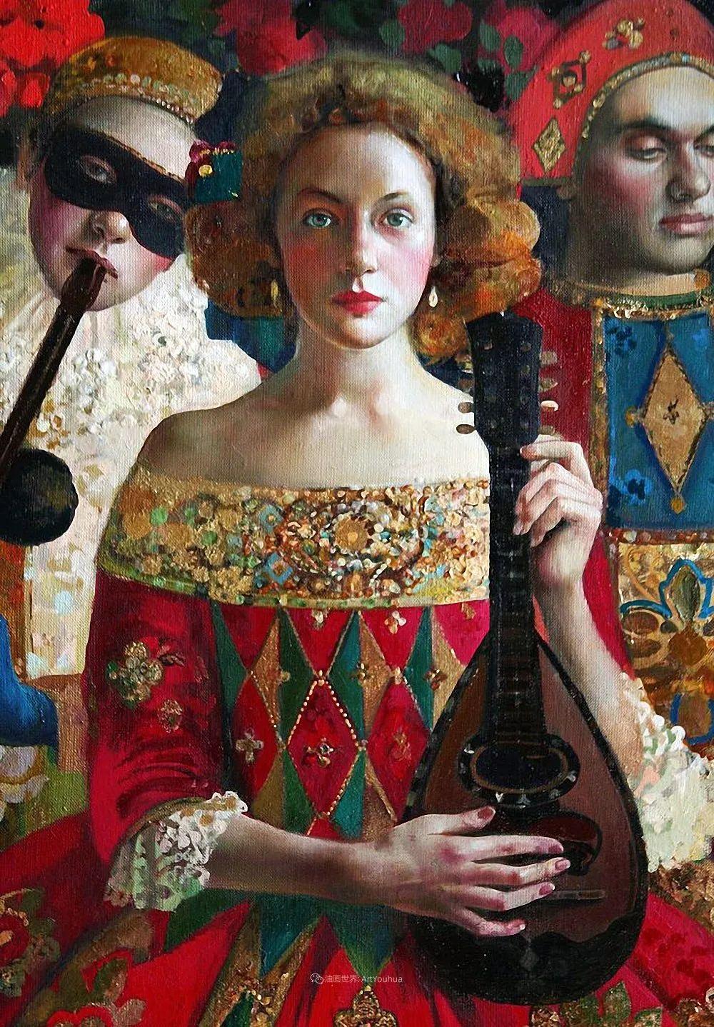 俄罗斯当代著名女画家奥尔加·苏洛娃插图13