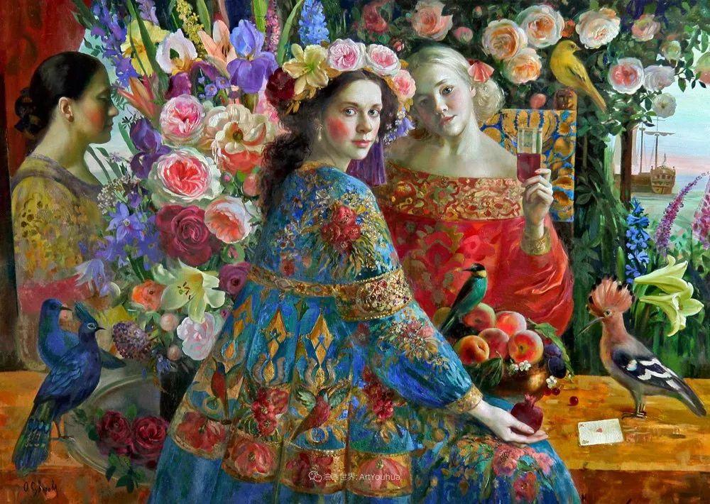俄罗斯当代著名女画家奥尔加·苏洛娃插图15