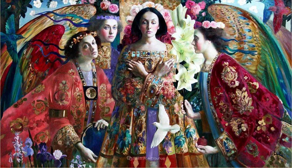俄罗斯当代著名女画家奥尔加·苏洛娃插图17