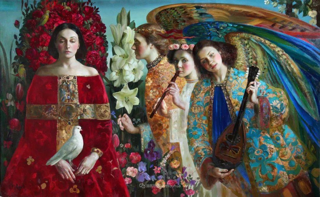 俄罗斯当代著名女画家奥尔加·苏洛娃插图19