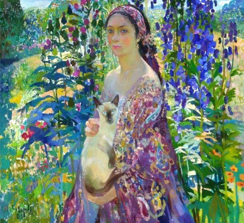 俄罗斯当代著名女画家奥尔加·苏洛娃插图21