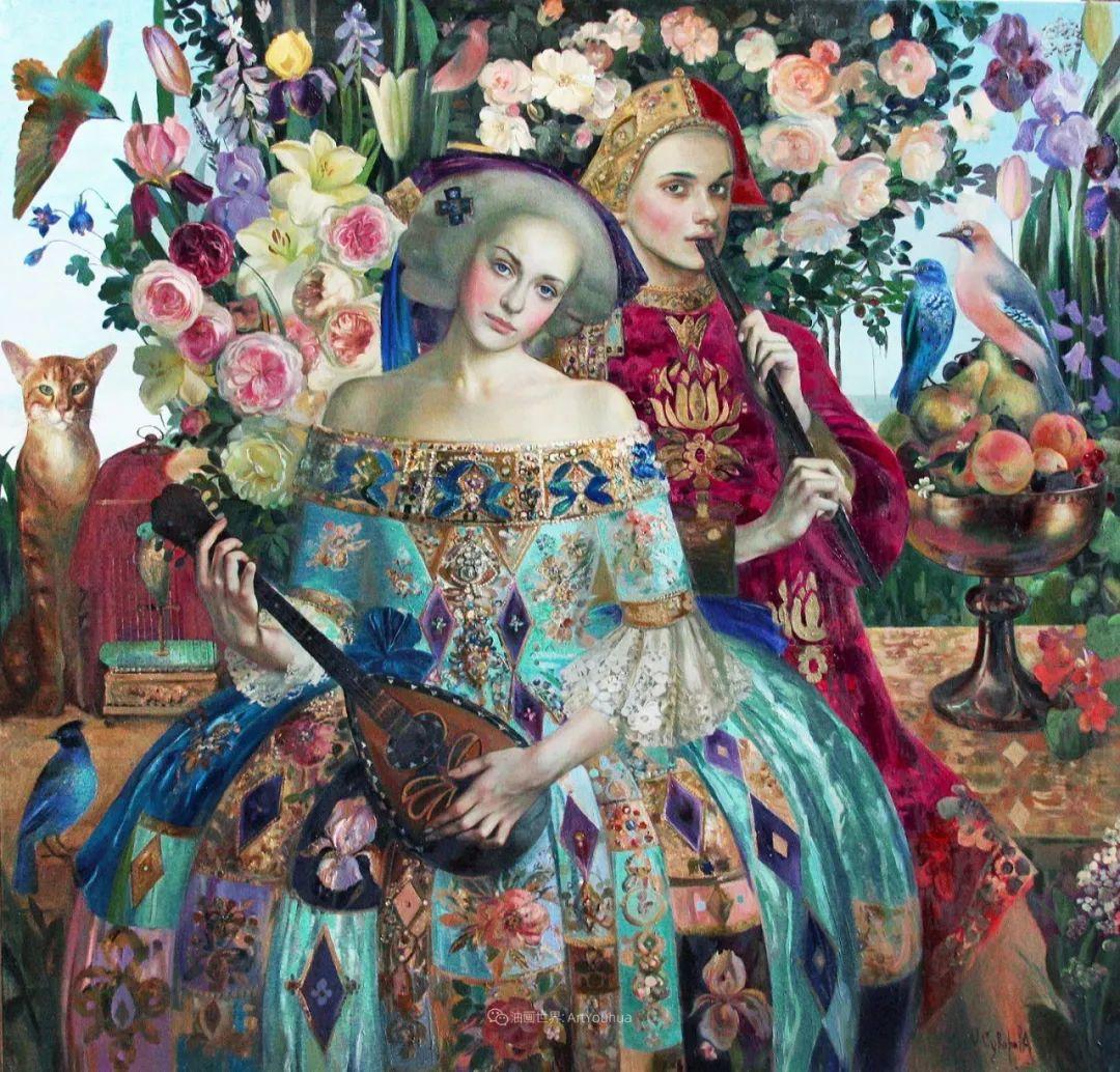 俄罗斯当代著名女画家奥尔加·苏洛娃插图25