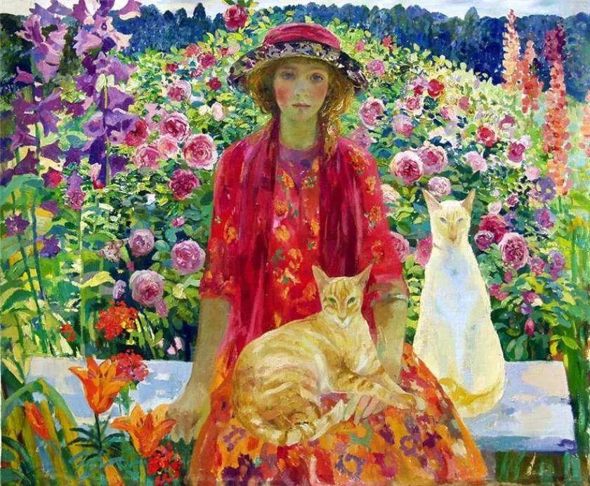 俄罗斯当代著名女画家奥尔加·苏洛娃插图27