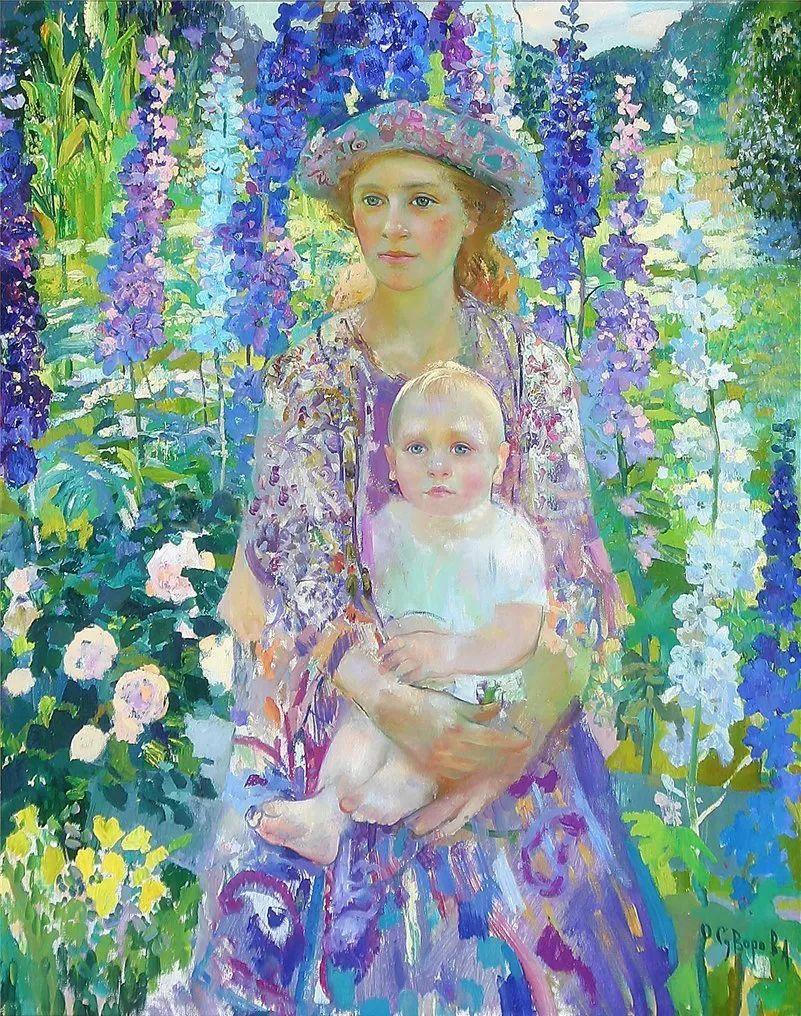 俄罗斯当代著名女画家奥尔加·苏洛娃插图29