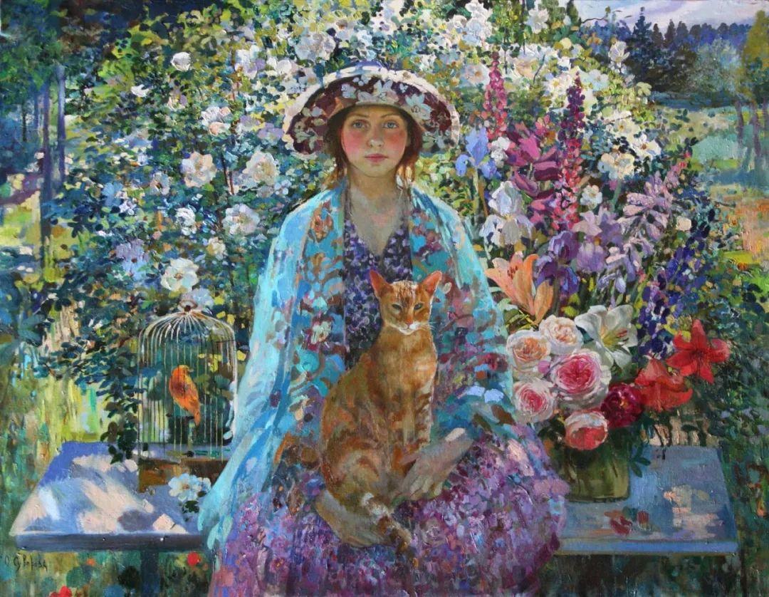俄罗斯当代著名女画家奥尔加·苏洛娃插图31