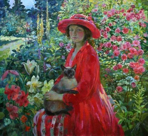 俄罗斯当代著名女画家奥尔加·苏洛娃插图33