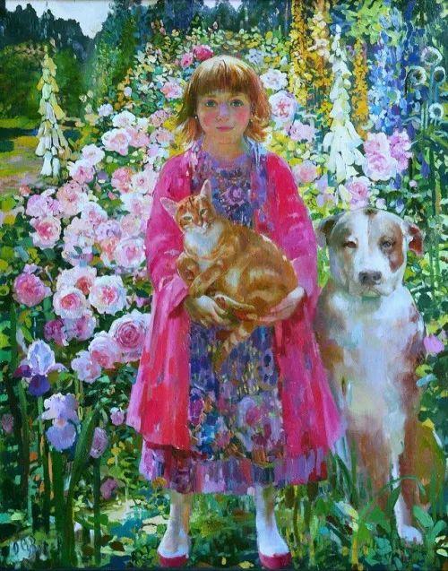 俄罗斯当代著名女画家奥尔加·苏洛娃插图35