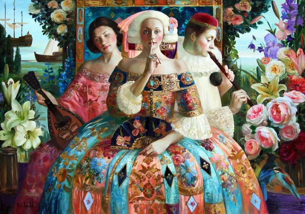俄罗斯当代著名女画家奥尔加·苏洛娃插图37