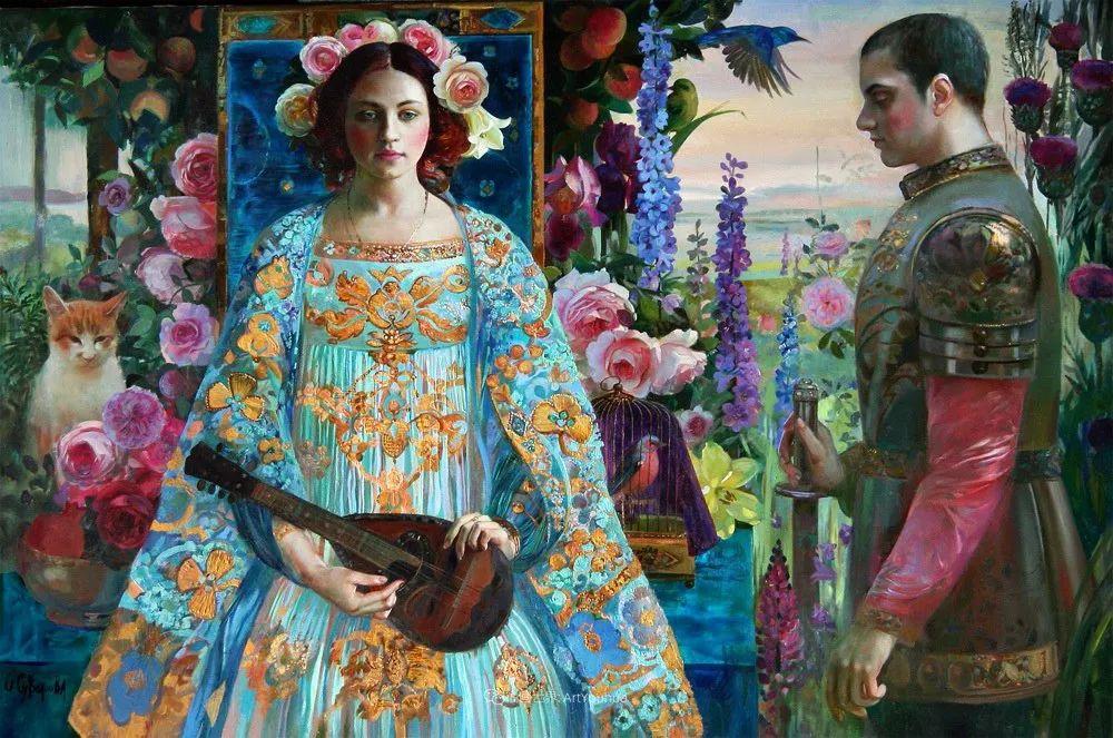 俄罗斯当代著名女画家奥尔加·苏洛娃插图39