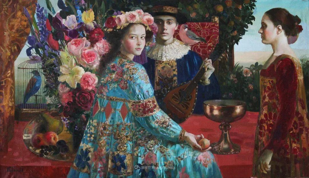 俄罗斯当代著名女画家奥尔加·苏洛娃插图41