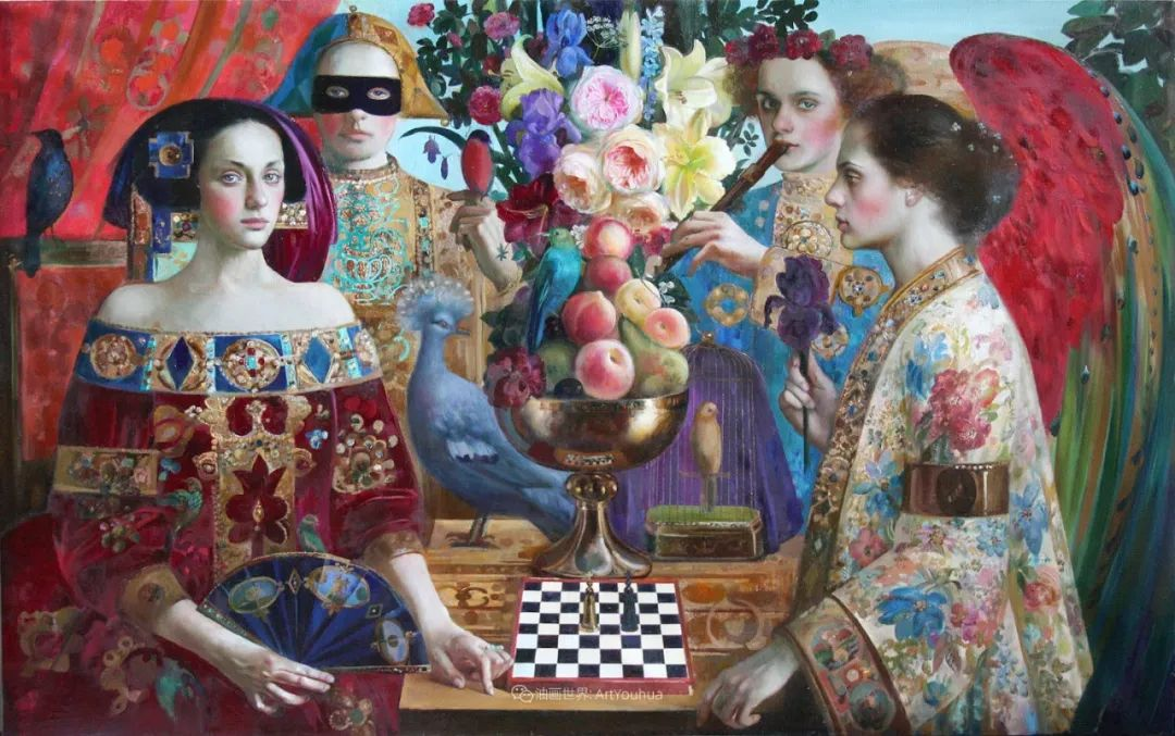 俄罗斯当代著名女画家奥尔加·苏洛娃插图43