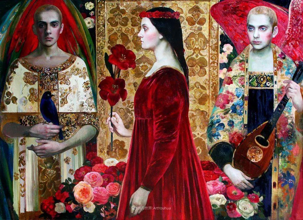 俄罗斯当代著名女画家奥尔加·苏洛娃插图49