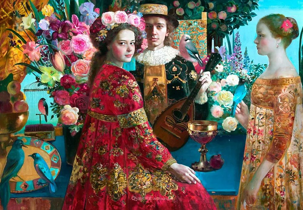 俄罗斯当代著名女画家奥尔加·苏洛娃插图59
