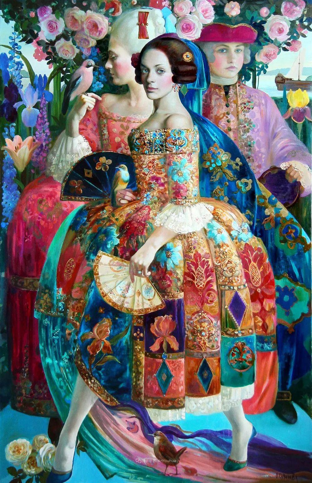 俄罗斯当代著名女画家奥尔加·苏洛娃插图63