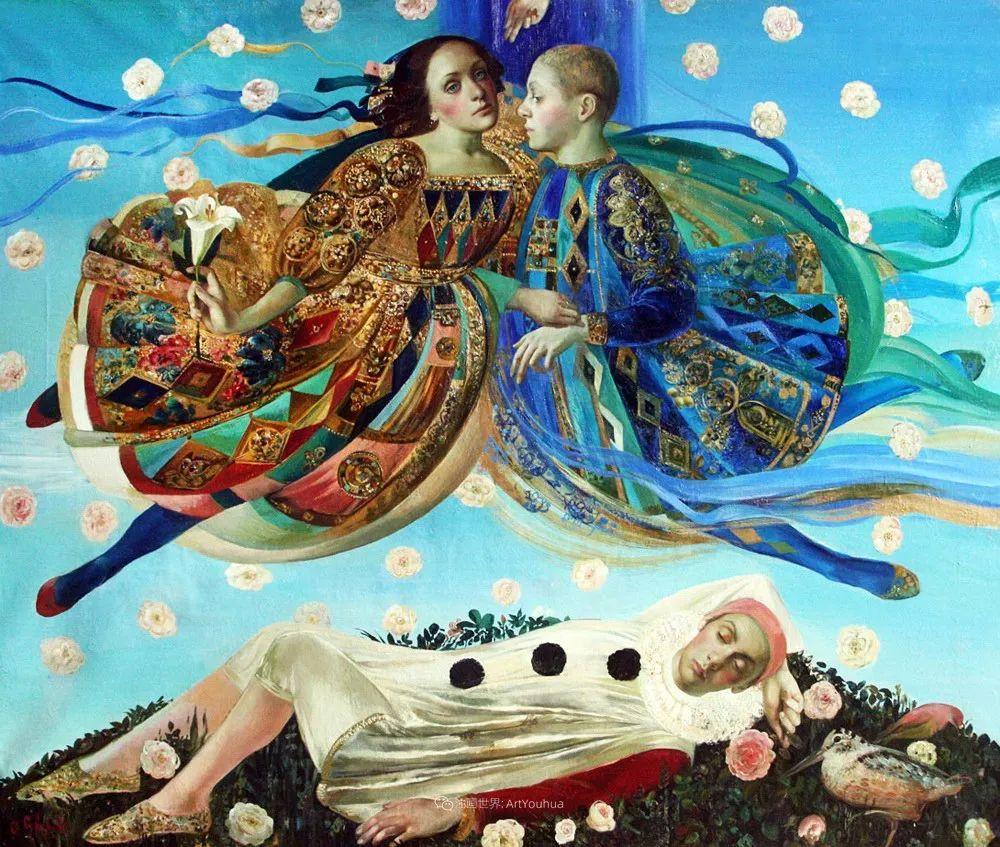 俄罗斯当代著名女画家奥尔加·苏洛娃插图65