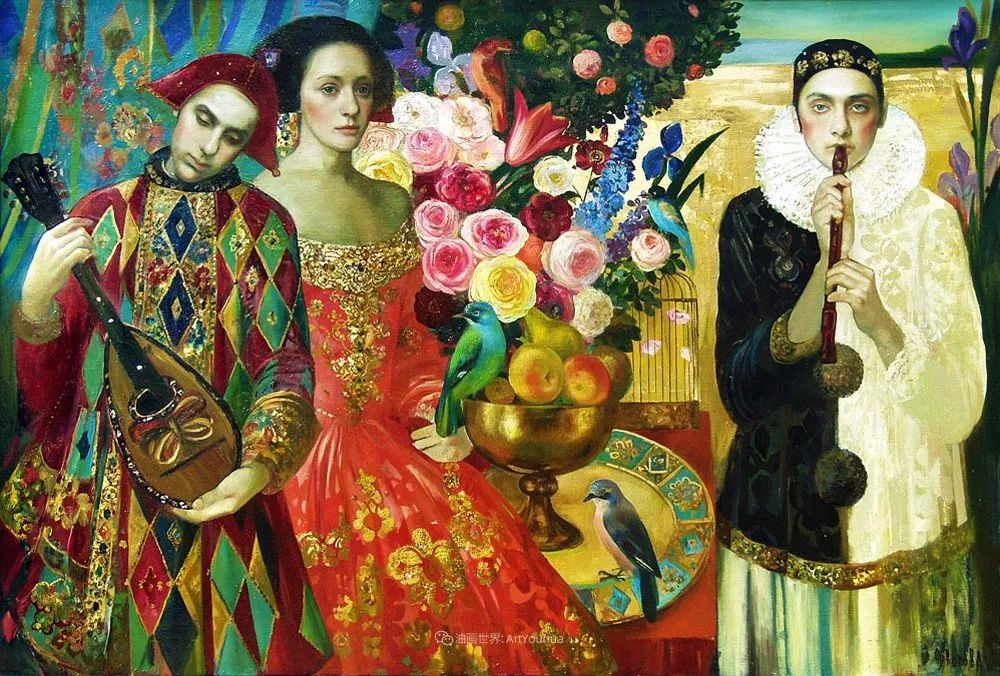 俄罗斯当代著名女画家奥尔加·苏洛娃插图69