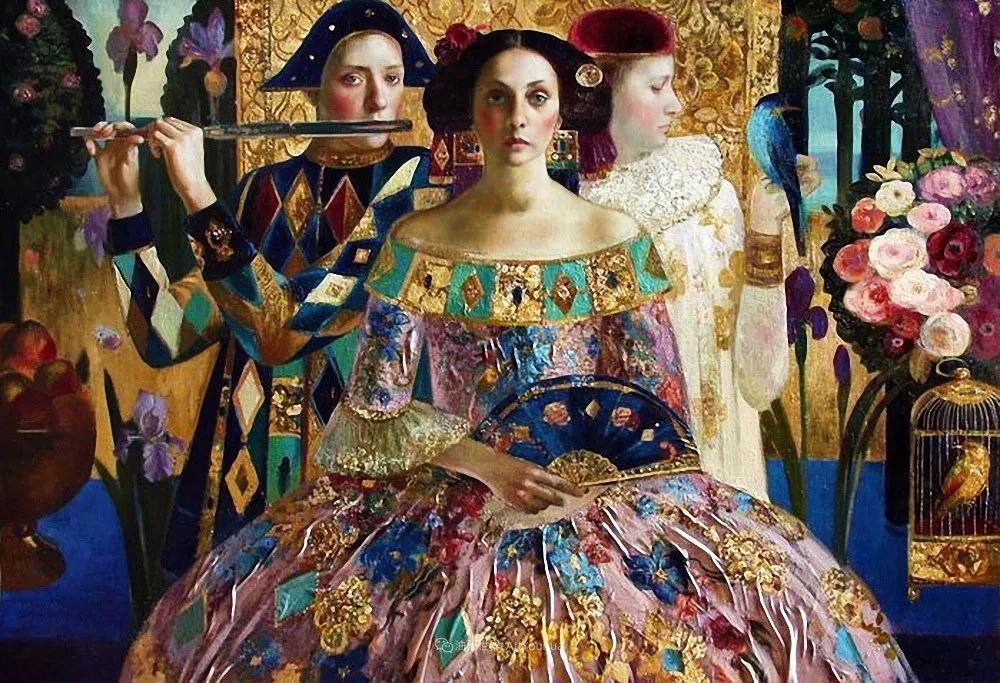 俄罗斯当代著名女画家奥尔加·苏洛娃插图71