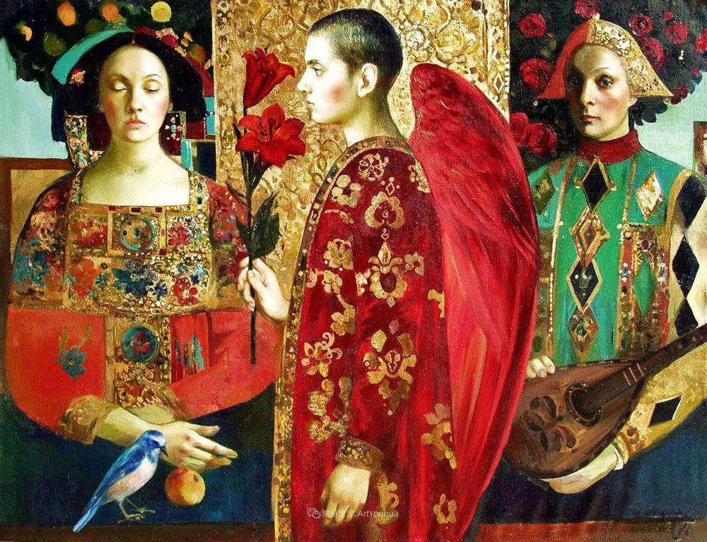 俄罗斯当代著名女画家奥尔加·苏洛娃插图77