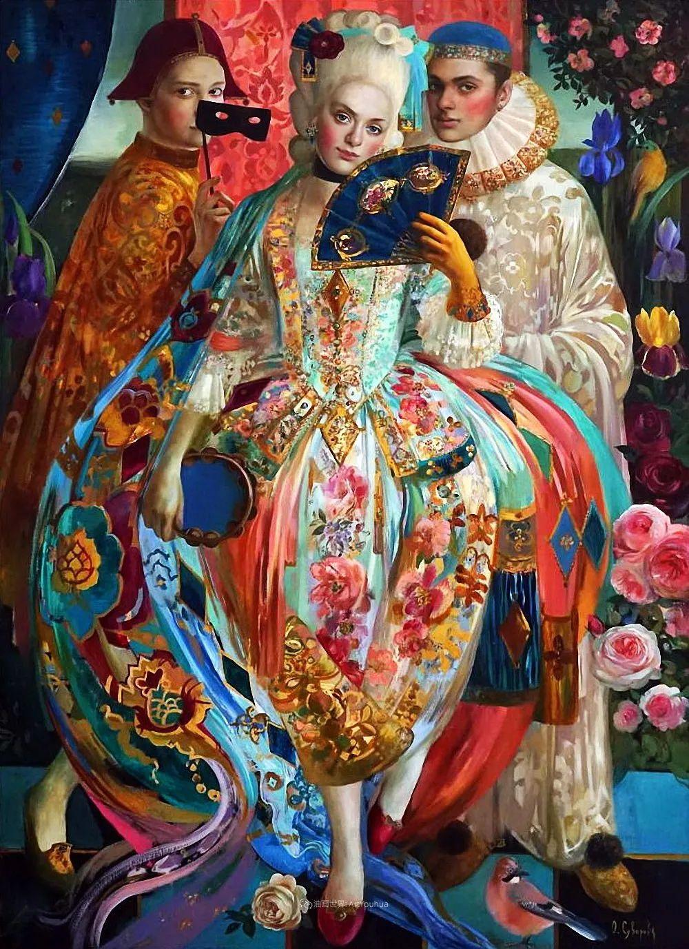 俄罗斯当代著名女画家奥尔加·苏洛娃插图79