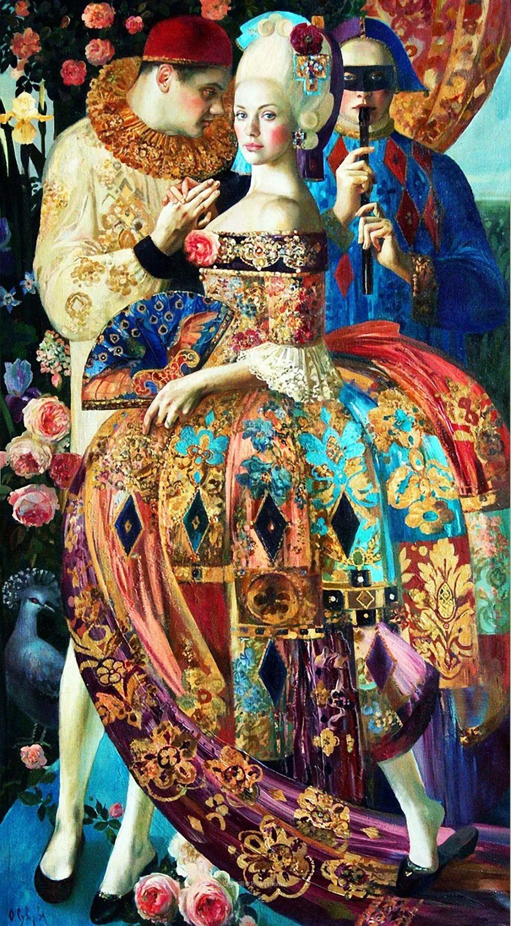 俄罗斯当代著名女画家奥尔加·苏洛娃插图81