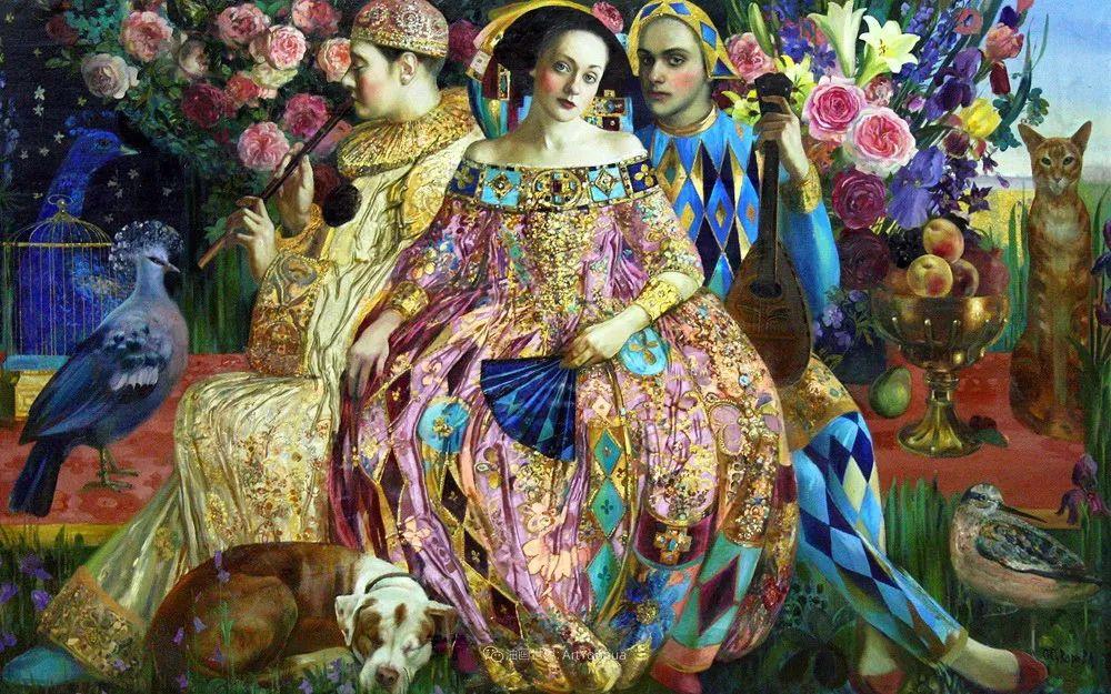 俄罗斯当代著名女画家奥尔加·苏洛娃插图83