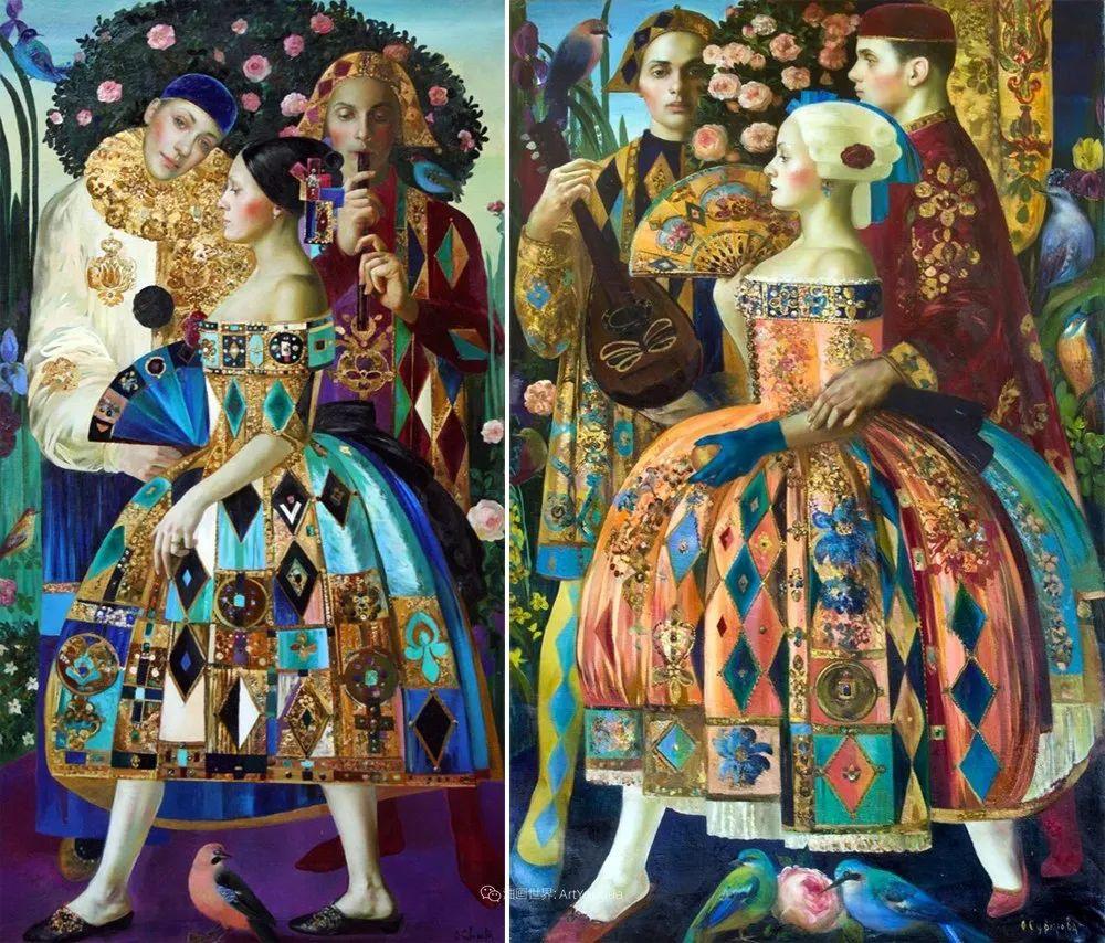 俄罗斯当代著名女画家奥尔加·苏洛娃插图85