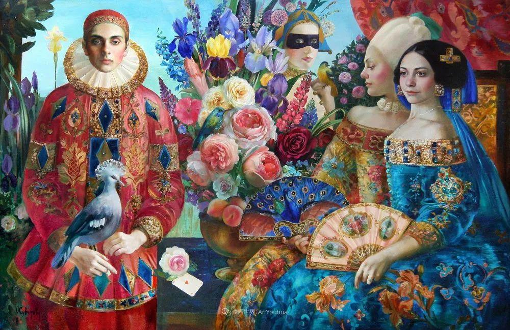 俄罗斯当代著名女画家奥尔加·苏洛娃插图87