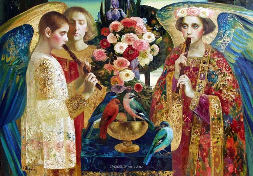 俄罗斯当代著名女画家奥尔加·苏洛娃插图89
