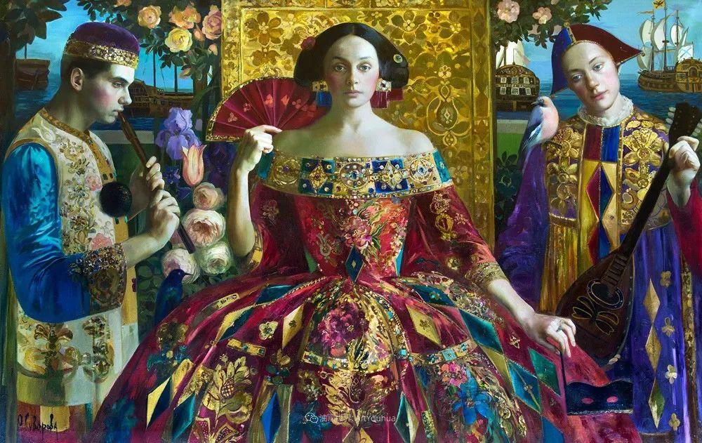 俄罗斯当代著名女画家奥尔加·苏洛娃插图91