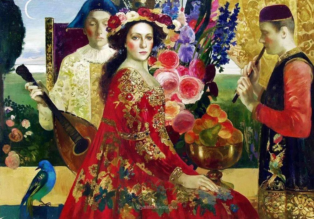 俄罗斯当代著名女画家奥尔加·苏洛娃插图93