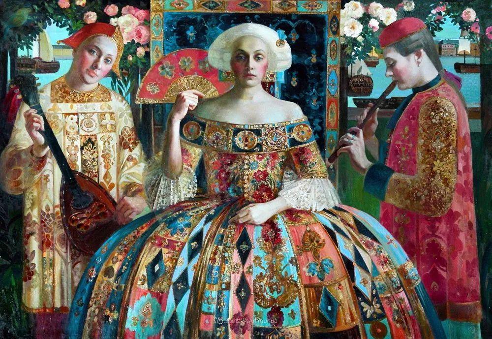 俄罗斯当代著名女画家奥尔加·苏洛娃插图95