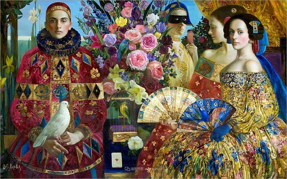 俄罗斯当代著名女画家奥尔加·苏洛娃插图97