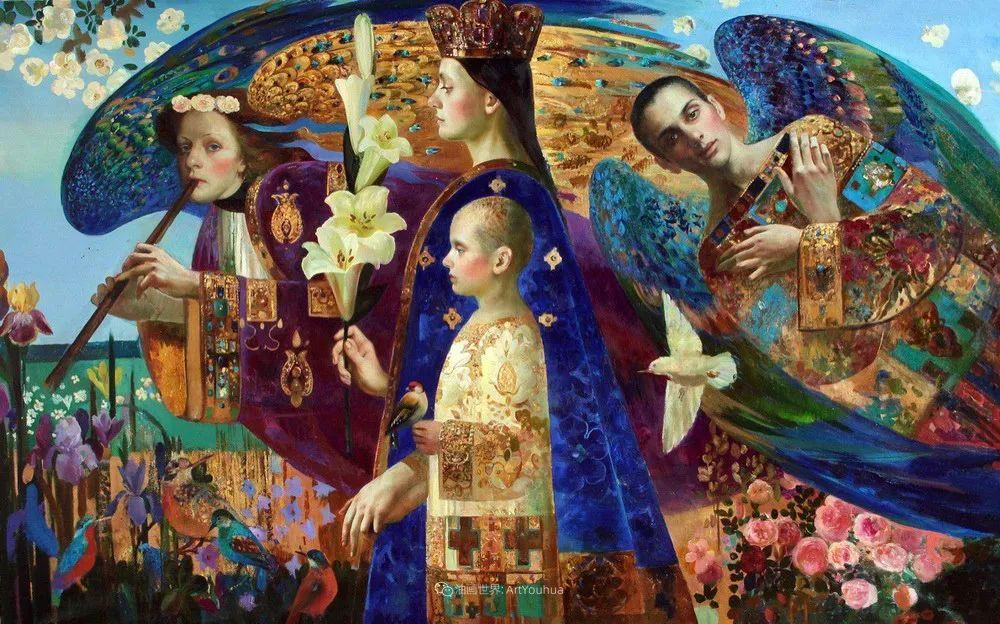 俄罗斯当代著名女画家奥尔加·苏洛娃插图101