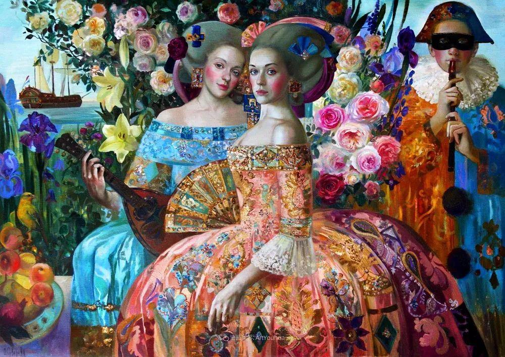 俄罗斯当代著名女画家奥尔加·苏洛娃插图105