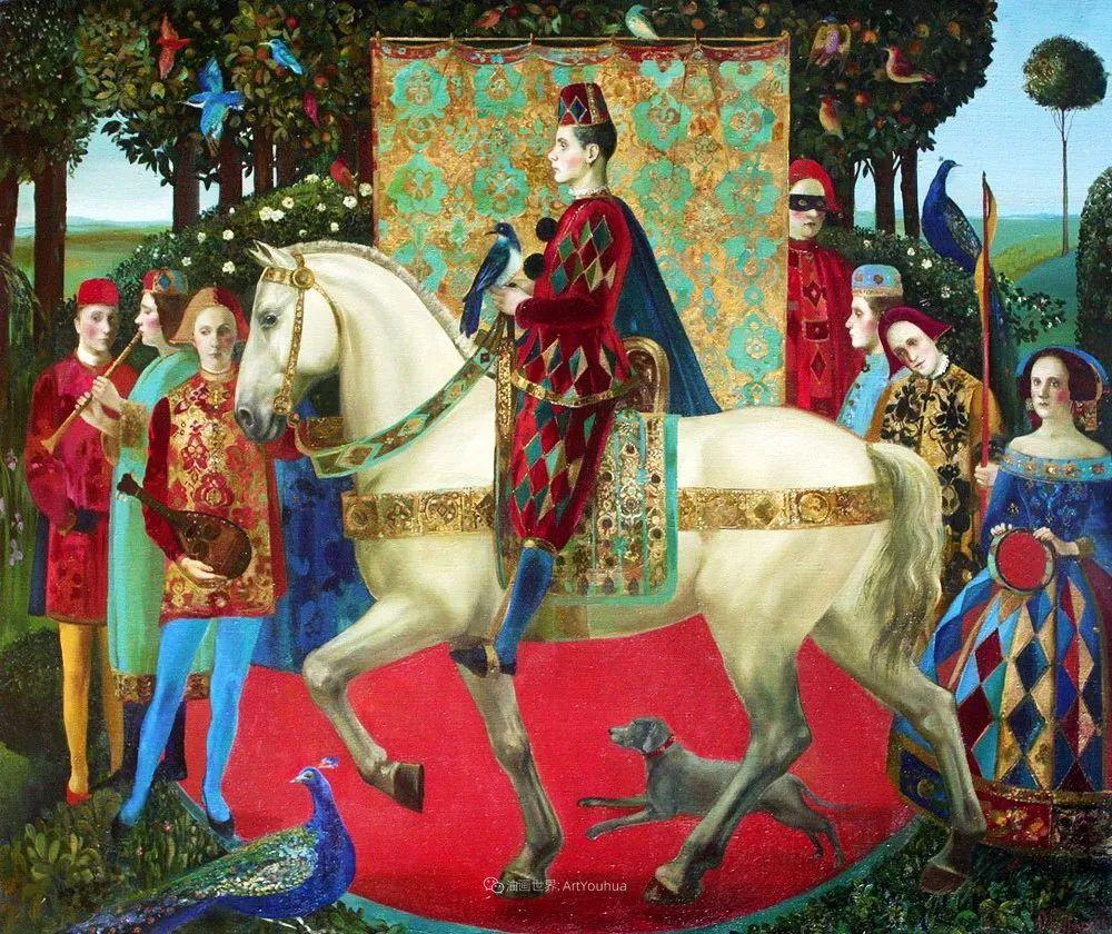 俄罗斯当代著名女画家奥尔加·苏洛娃插图107