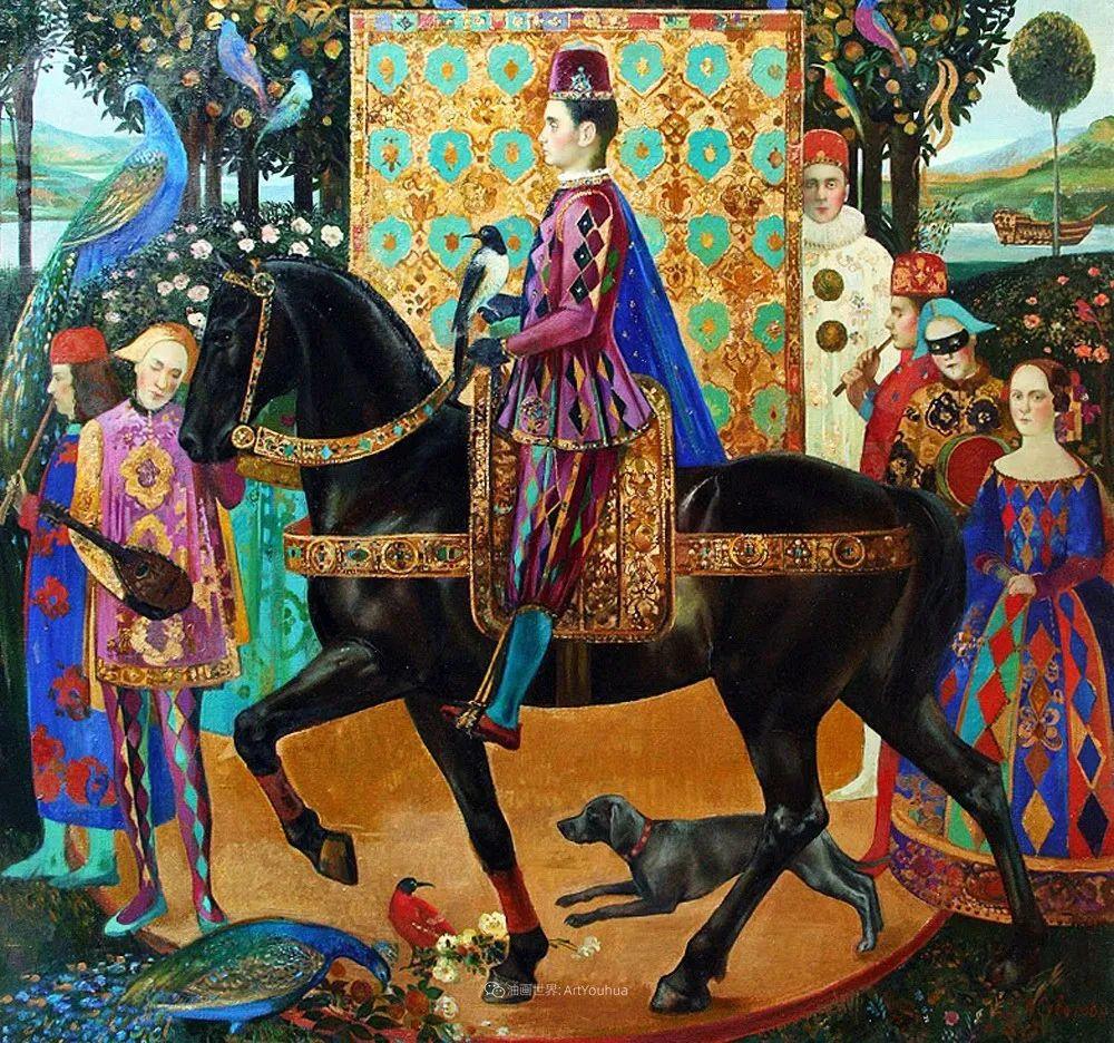 俄罗斯当代著名女画家奥尔加·苏洛娃插图109