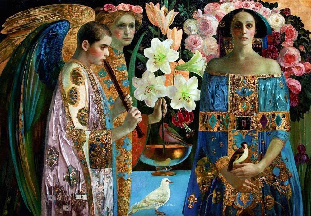 俄罗斯当代著名女画家奥尔加·苏洛娃插图111