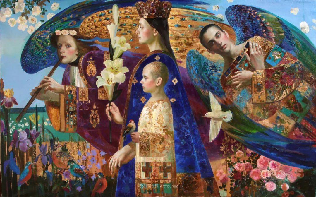俄罗斯当代著名女画家奥尔加·苏洛娃插图113