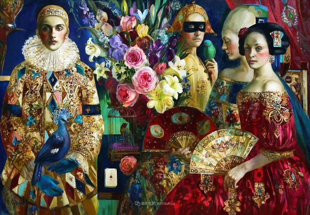 俄罗斯当代著名女画家奥尔加·苏洛娃插图115
