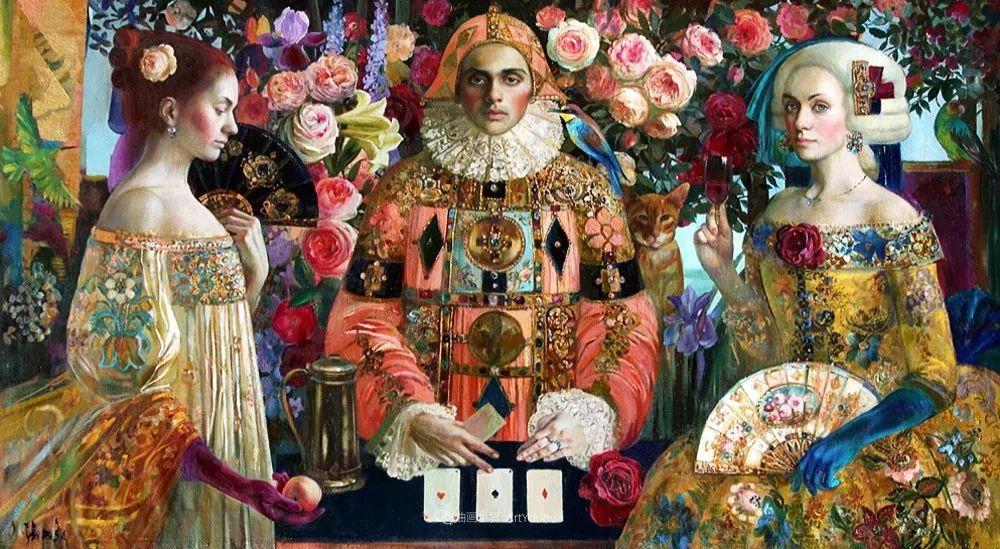 俄罗斯当代著名女画家奥尔加·苏洛娃插图117