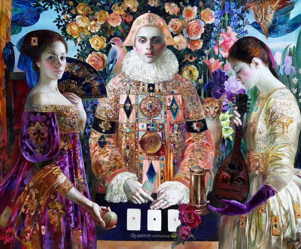 俄罗斯当代著名女画家奥尔加·苏洛娃插图119
