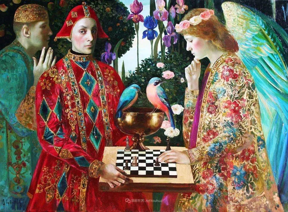俄罗斯当代著名女画家奥尔加·苏洛娃插图121