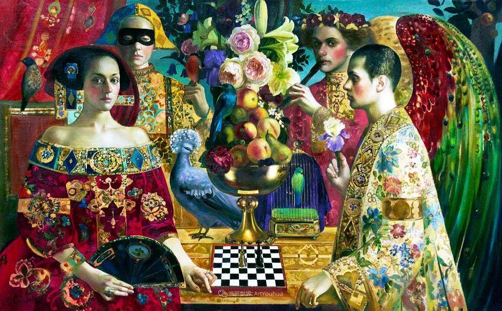 俄罗斯当代著名女画家奥尔加·苏洛娃插图123