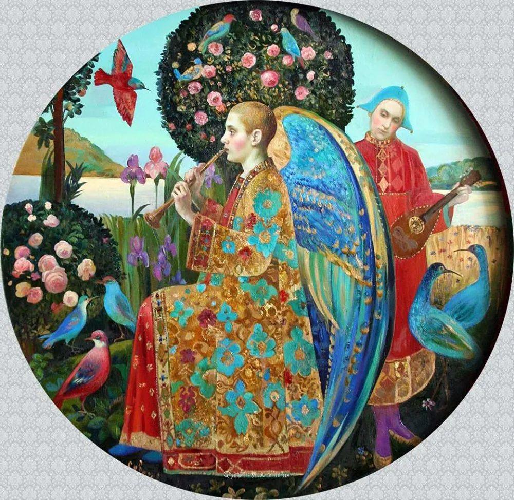 俄罗斯当代著名女画家奥尔加·苏洛娃插图127