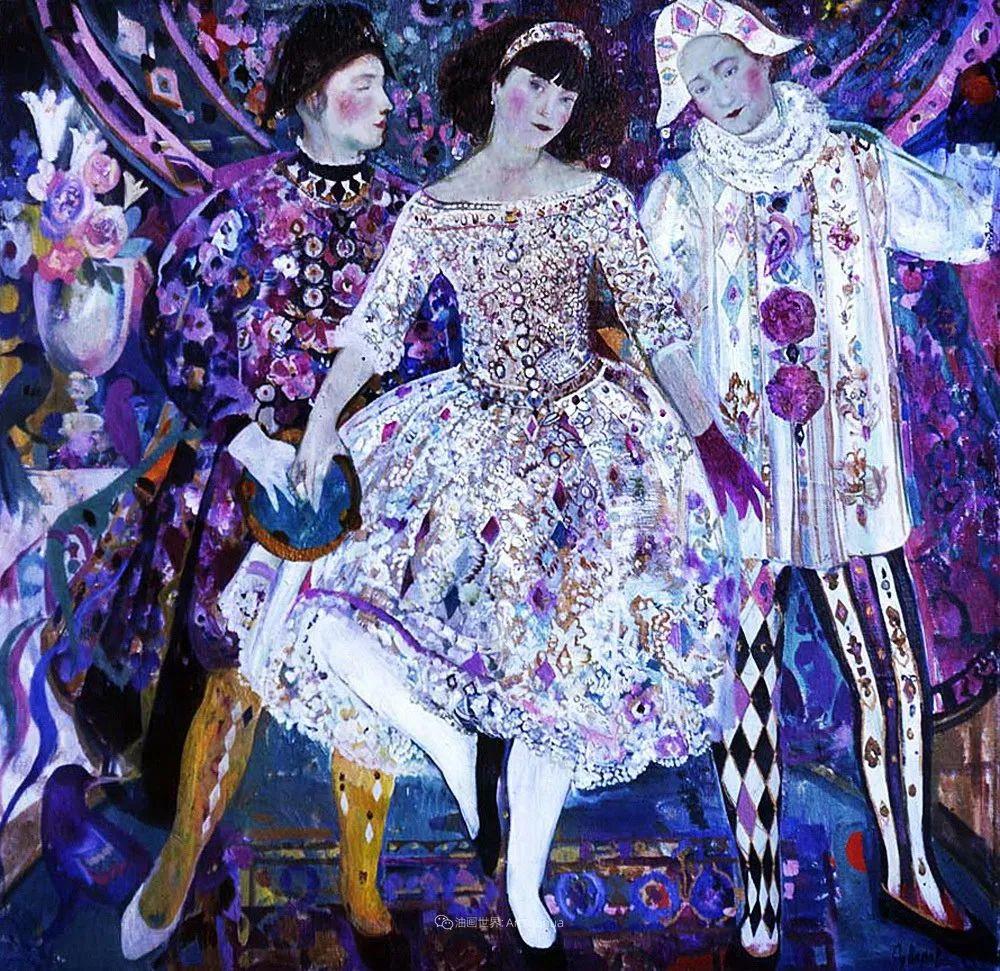 俄罗斯当代著名女画家奥尔加·苏洛娃插图129