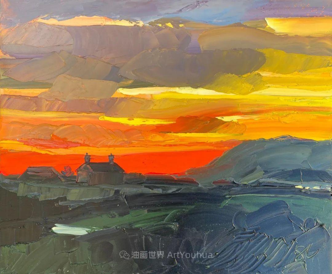色块分明的风景画,富有表现力的厚涂画法!插图4
