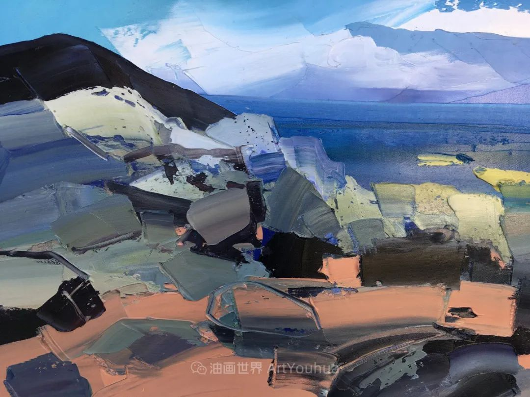 色块分明的风景画,富有表现力的厚涂画法!插图5