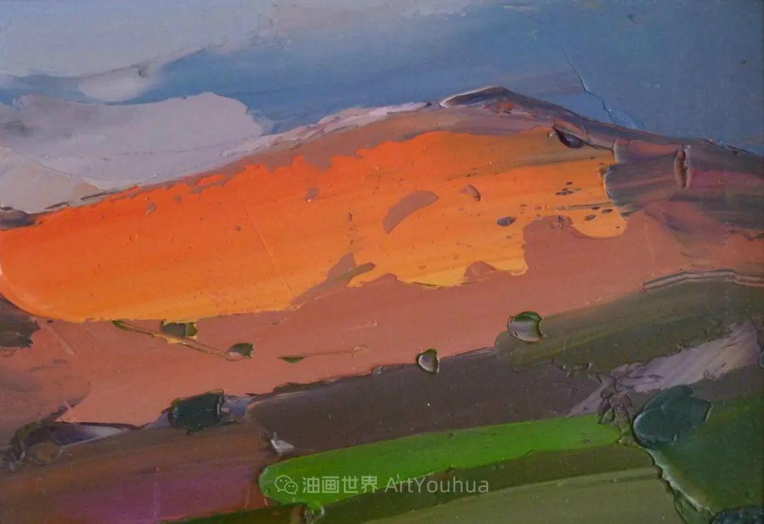 色块分明的风景画,富有表现力的厚涂画法!插图20