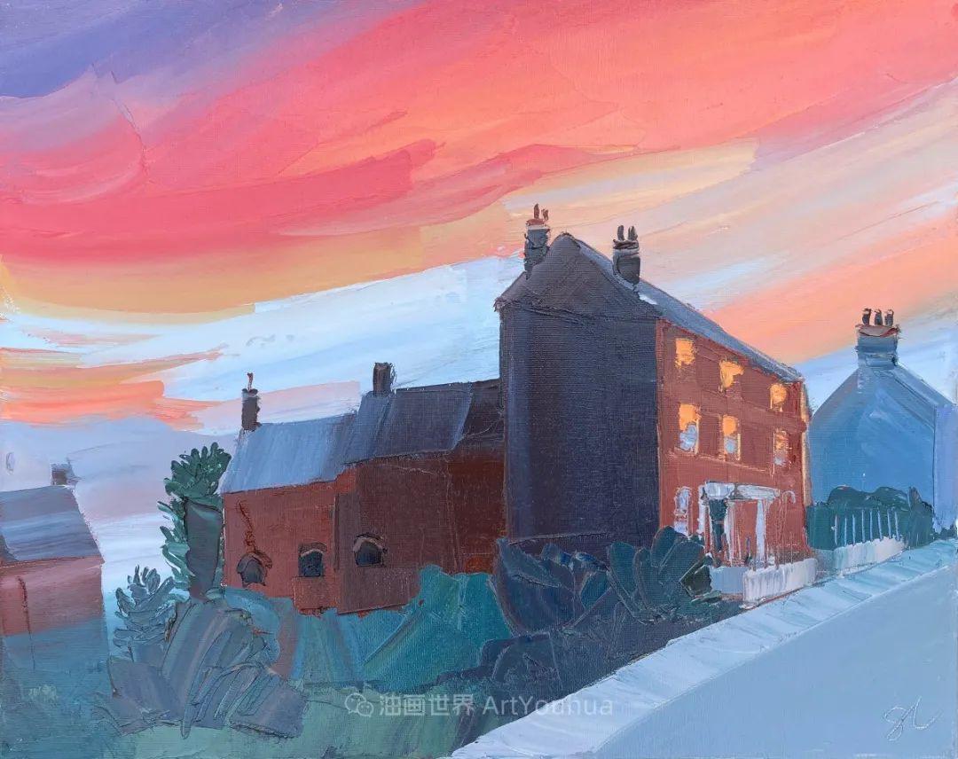 色块分明的风景画,富有表现力的厚涂画法!插图21