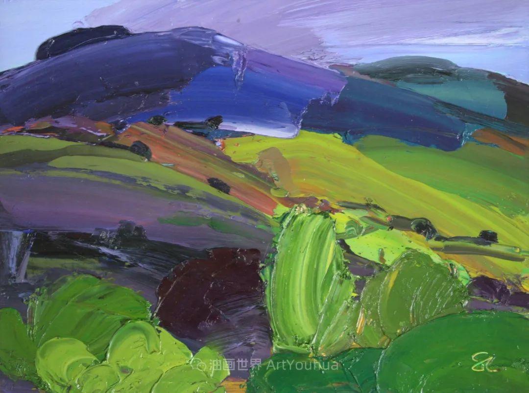色块分明的风景画,富有表现力的厚涂画法!插图24